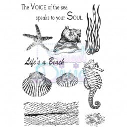 Sweet Dixie - Sweet Dixie Clear Stamp Sea Creatures A6