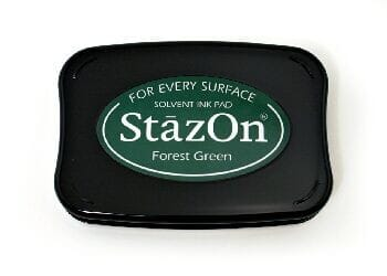 Tsukineko - Forest Green StazOn Pad