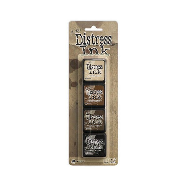 Ranger Ink - Tim Holtz Distress Ink Minis Kit 3 - Sold in one strip of 4 pads