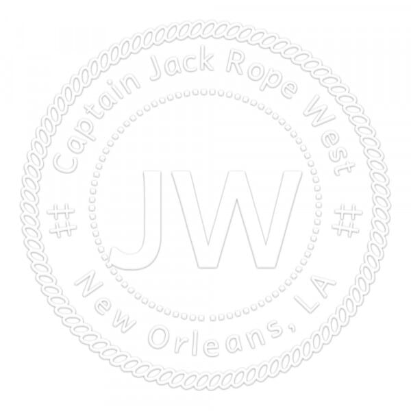 Rope Border Round Monogram Seal