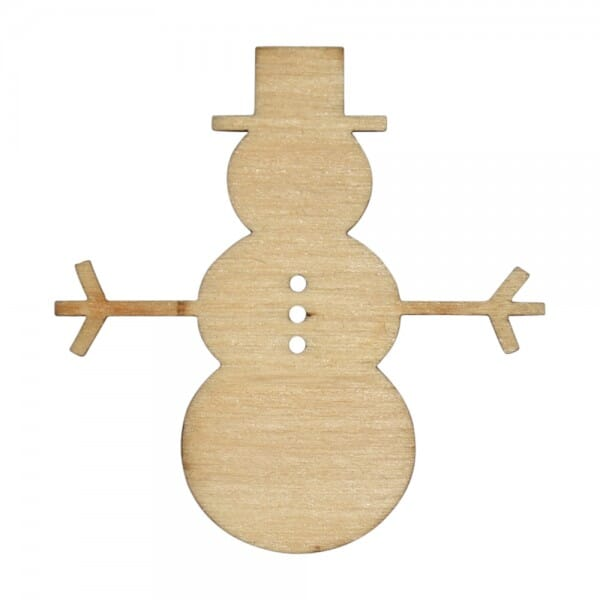 Craft Shapes - Snowman