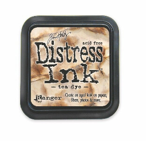 Ranger Ink - Tea Dye Distress Pad