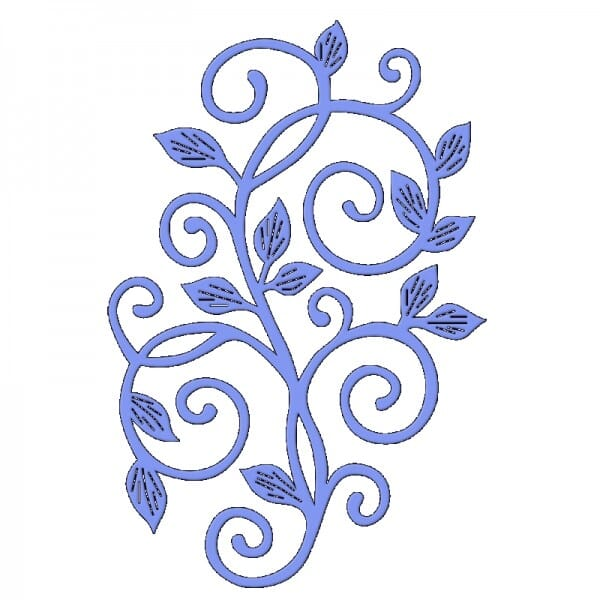 Sue Dix Designs - Leafy Scroll 2 Everyday Metal Dies
