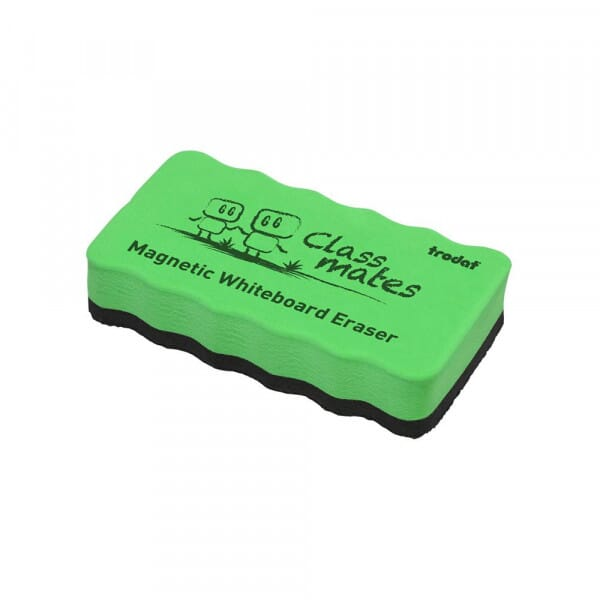 Magnetic Whiteboard Eraser - Green
