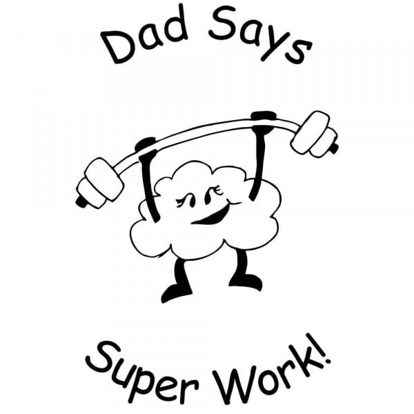 Personalised Home Schooling Stamp - Super Work