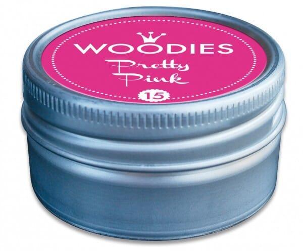 Woodies stamp pad Pretty Pink