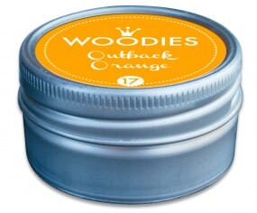 Woodies stamp pad Outback Orange NEON