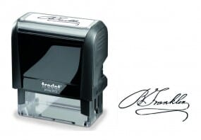 Signature Stamp Medium