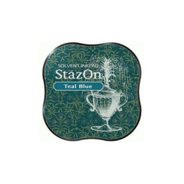 Tsukineko - Stazon Midi Pad Teal Blue