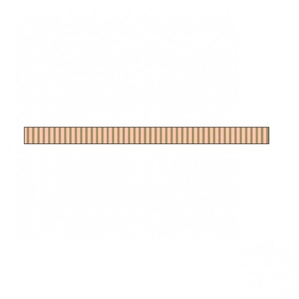 Little B - Little B Gold Foil Grosgrain 3mm x 20m Tape