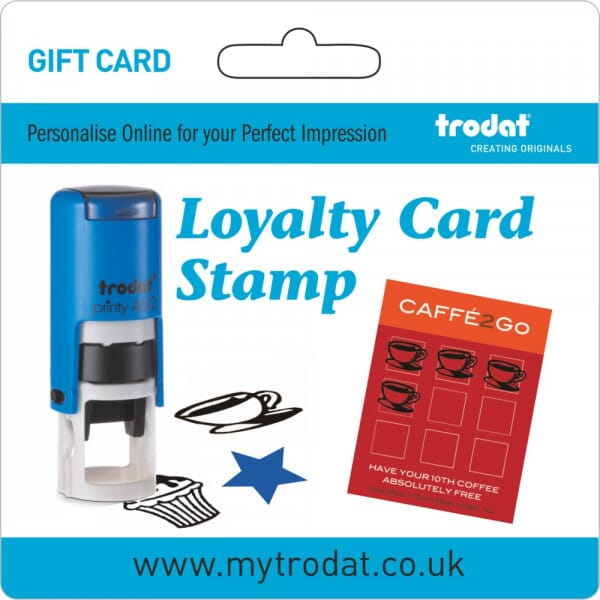 Trodat Loyalty Stamp Gift Card