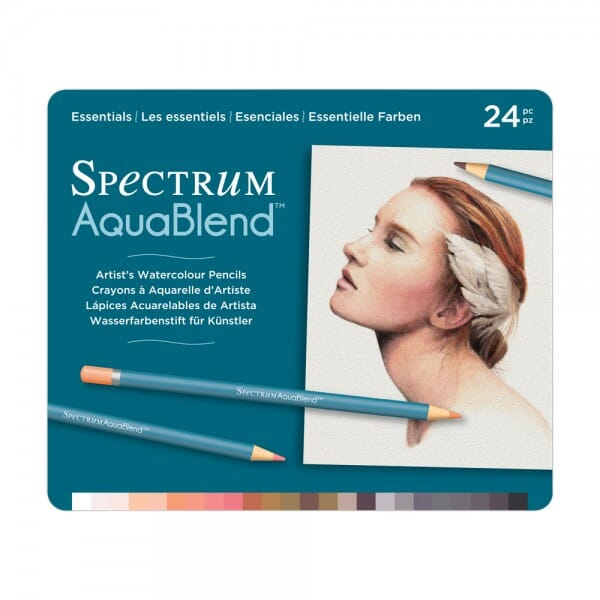 Spectrum Noir 24 Piece ColourBlend Pencil Set - AquaBlend