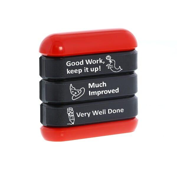 Trodat Stamp Stack - Work 1