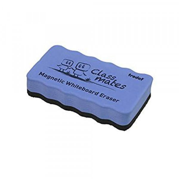 Magnetic Whiteboard Eraser - Blue