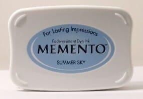 Tsukineko - Summer Sky Memento Ink Pad