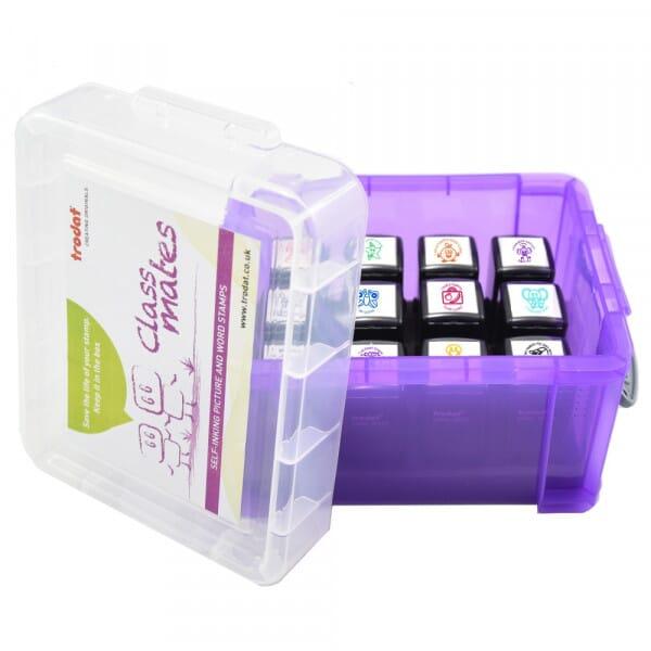 Teacher Stamps Box - Preschool awareness