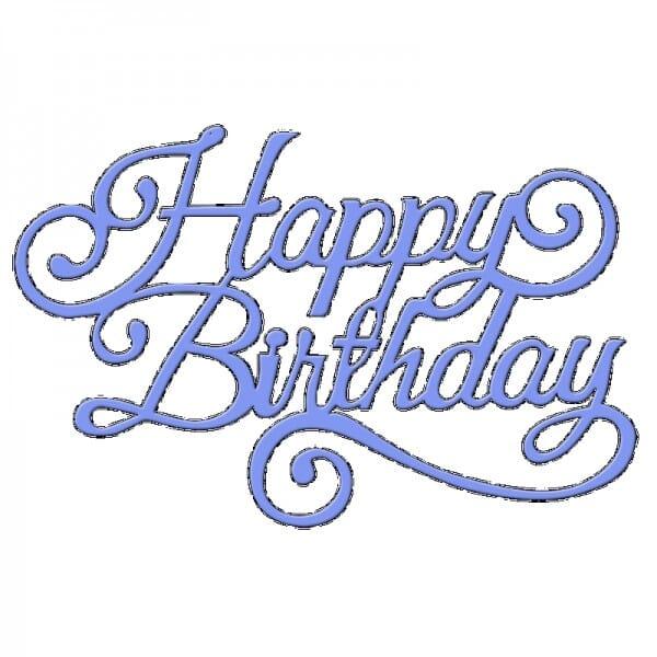 Sue Dix Designs - Happy Birthday Everyday Metal Dies