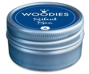 Woodies stamp pad Silent Sea