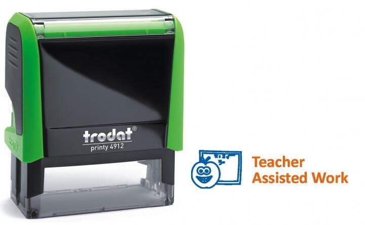 Trodat Classmate Self-Inking - Work Assess 2A 4912