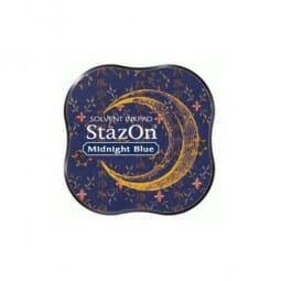 Tsukineko - Stazon Midi Pad Midnight Blue