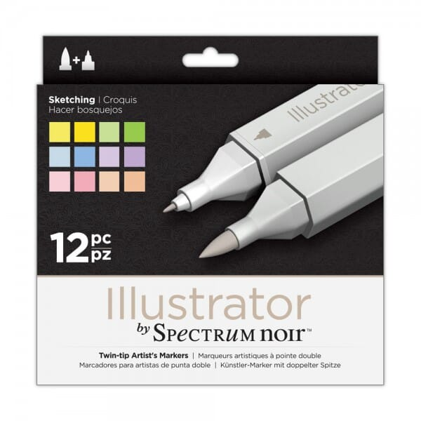 Spectrum Noir Illustrator 12pk - Sketching