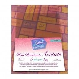 Sweet Dixie - A4 Heat Resistant Acetate (5)