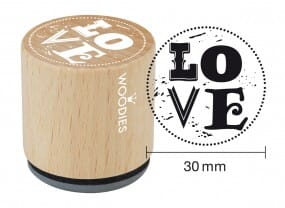 Woodies stamp Love