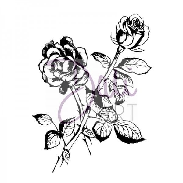 DaliArt - DaliART Clear Stamp Rose A6