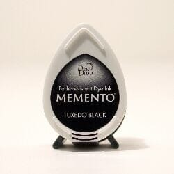 Tsukineko - BS Tuxedo Black Memento Dew Drop dye Ink Pad