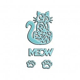 Sue Dix Designs - Meow Sweet Dixie Die