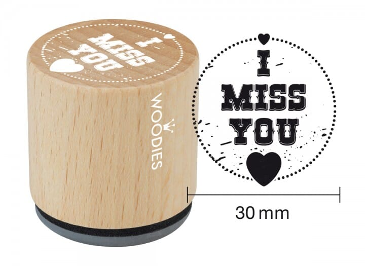 Woodies stamp I miss you