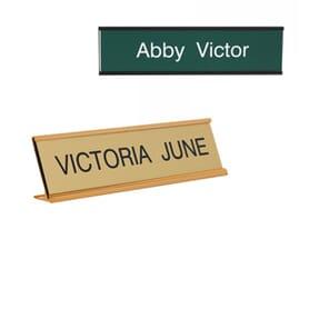 Customised Nameplates