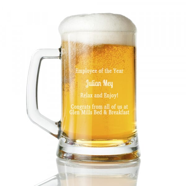 Employee Recognition Tankard