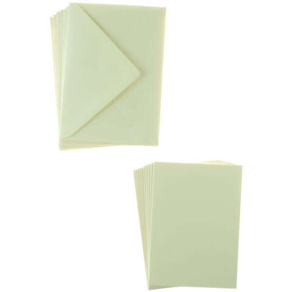 Sweet Dixie Yellow A6 Card and Envelope Packs (10)