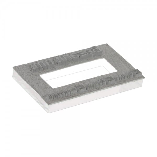 Textplate for Trodat Professional Dater 5440 49 x 28 mm - 2+2 lines