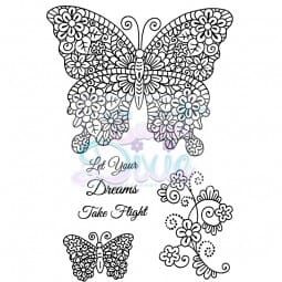 Sweet Dixie - Sweet Dixie Clear Stamp Flights of Fantasy A6