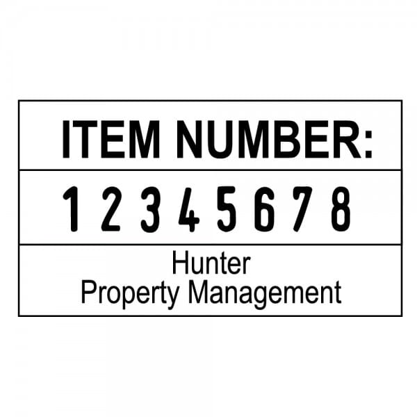 Trodat Professional Numberer 5558PL - 8 bands, 2+2 lines