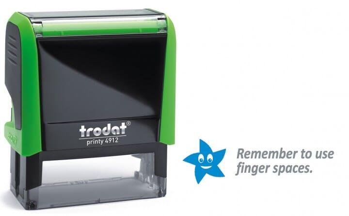 Trodat Classmate Self-Inking - Remember 1C 4912