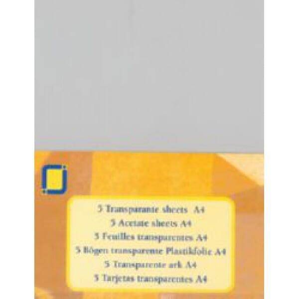 JEJE Peel-offs - 5 x A4 Acetate Sheets