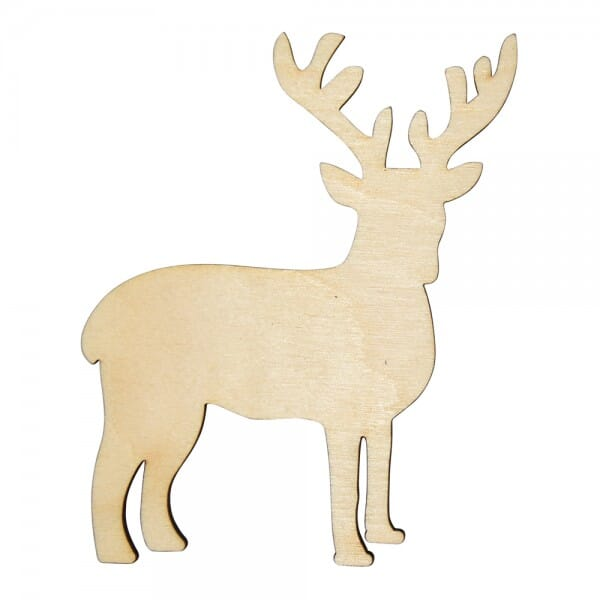Craft Shapes - Reindeer side profile