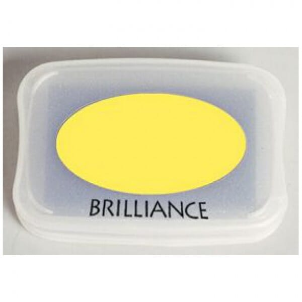 Tsukineko - Sunflower Yellow Brilliance Pad