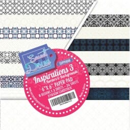 "Sweet Dixie Inspirations Three 6"" x 6"" Cardstock Pad"