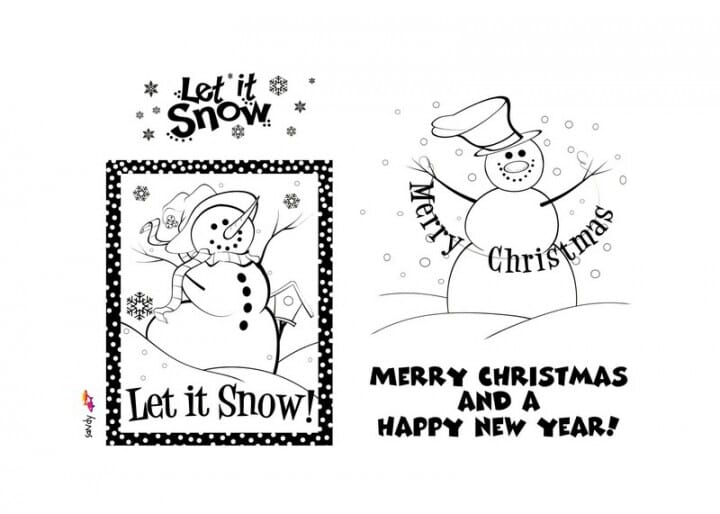 Art Stamps - Let it Snow, Let it Snow Clear Stamp