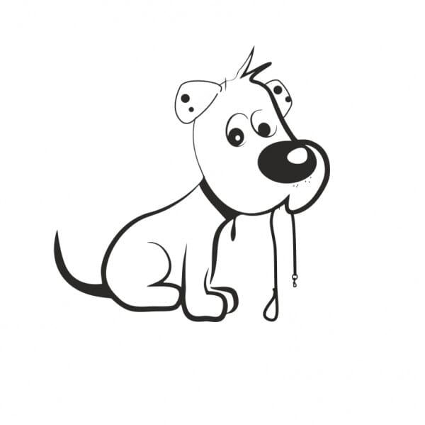 Bullet Journal Stamp - Dog Walking