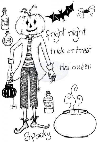 Lindsay Mason Designs - Fright Night Clear Stamp